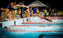Zonales universitarios de natación.