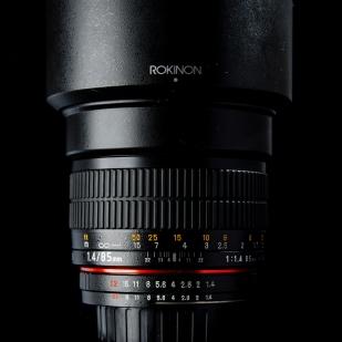 Objetivo Rokinon 85mm 1.4